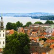 Zemun rooftops in Belgrade — Stock Photo