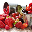 Fruits and berries — Stock Photo #4518162