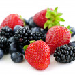 Assorted fresh berries — Stock Photo #4518174