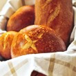 Bread in basket — Stock Photo #4518221