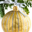 Christmas ornament — Stock Photo