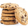 Chocolate chip cookies — Foto Stock