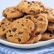 Chocolate chip cookies — Stock Photo #4518477