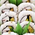 Sushi platter — Stock Photo #4519827