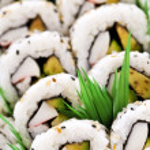 Sushi platter — Stock Photo #4519828