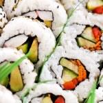 Sushi platter — Stock Photo #4519829