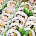 Sushi platter — Stock Photo #4519832