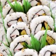 Sushi platter - Stock Photo