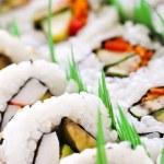Sushi platter — Stock Photo