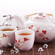 Green tea set — Stock Photo #4519843