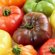 Heirloom tomatoes — Stock fotografie