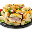 Sandwich tray - Stock Photo