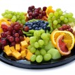 Fruit tray — Stock Photo #4519902