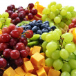 Fruit tray — Stock Photo #4519905