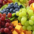 Fruit tray — Stock Photo #4519906
