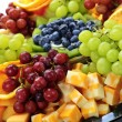 Fruit tray — Stock Photo #4519909