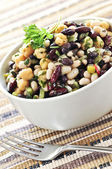 Bean salad — Stock Photo