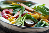 Vegetable stir fry — Stock Photo
