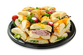 Sandwich tray — Stock Photo