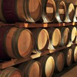 Stock Photo: Wine barrels