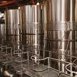 Wine making equipment - Stock Photo