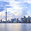 Toronto skyline — Stock Photo