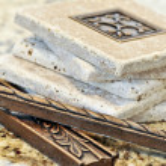 Ceramic tiles and borders — Stock Photo