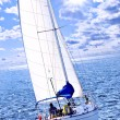 Stock Photo: Sailboat