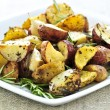 Roasted potatoes - Stock Photo