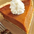 Pumpkin pie — Stock Photo #4565230