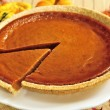 Pumpkin pie — Stock Photo #4565233