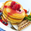 Royalty-Free Stock Photo: Pancakes breakfast
