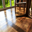 Hardwood floor - Stock Photo
