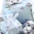 Christmas gift boxes — Stock Photo #4565844
