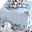 Christmas gift box — Stock Photo #4565870