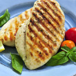 Grilled chicken breasts — Stock Photo