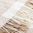 Royalty-Free Stock Photo: Cozy alpaca wool blanket