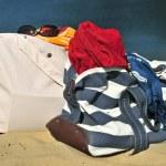 Beach bags — Stock Photo