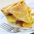 Stock Photo: Slice of apple pie
