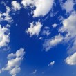 Blue sky with white clouds — Foto Stock
