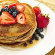 Stack of pancakes - Stock Photo