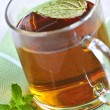 Stock Photo: Mint tea