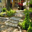 Natural stone steps — Foto de Stock