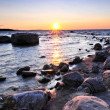 Sunset over water — Stock Photo #4569546