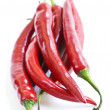 Red hot chili peppers - Stock Photo