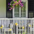 House porch — Stock Photo