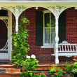 Stock Photo: House porch