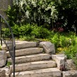 Natural stone steps — Stock Photo #4569737