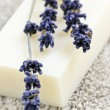 Lavender soap — Stock Photo