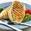 Grilled chicken breasts — Photo